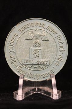 A German rare to find SA Day Badge being dated 1934 with the