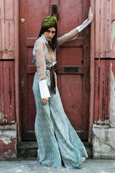 Xeniak: Lost Childhood Collection, love the palazzo pants