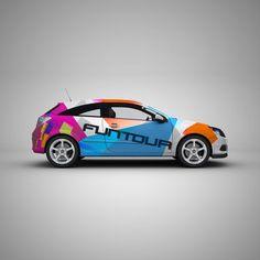 Car Branding #art #funtour