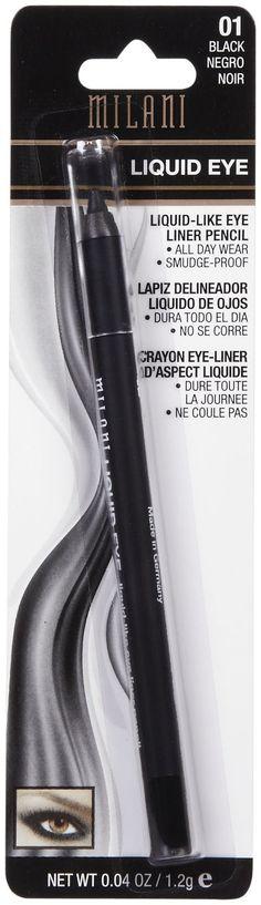 Milani Liquid Eye Liner Pencil, Black - Best Price. are great eyeliner instead of purchasing highend. emilynoel. twist up liner