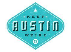 . #austin #typography