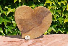 Großes Herz Massivholz | cbev.de Holz-Dekoideen
