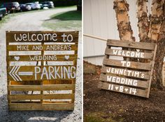 Love at First Sign! {Welcome Wedding Signs} - Save the Date Bridal Shower Welcome Sign, Wedding Welcome Signs, Wedding Signs, Diy Wedding, Rustic Wedding, Cabin Wedding, Church Wedding, Wedding Ceremony, Reception