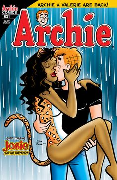The Pussycats are in town and Valerie has big news for her on-and-off-again boyfriend Archie: Her family is moving to Riverdale! Description from captaincomics.ning.com. I searched for this on bing.com/images