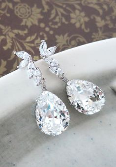 Ida Whimsical Fairy Style Cubic Zirconia Earrings
