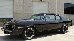 1974 Chevrolet Nova Resto Mod Disc Brakes presented as lot at Dallas, TX 2014 - Camaro Interior, American Racing Wheels, Hid Headlights, Chevy Muscle Cars, Chevy Nova, General Motors, Chevrolet Camaro, Cool Cars, Dream Cars