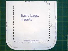 Bag of Old Jeans. Tutorial