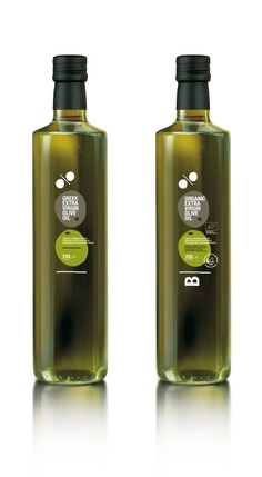Winner of Red Dot Packaging Design Award: Greek Olive Oil - Extra Virgin & Organic Olive Oils. Olive Oil Packaging, Organic Packaging, Rum Bottle, Liquor Bottles, Greek Olives, Olive Oil Bottles, Greek Yogurt Brands, Cooking With Olive Oil, Packaging Design