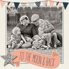 Shabby Blogs: Free {to the moon and back} Blog or Facebook Frame