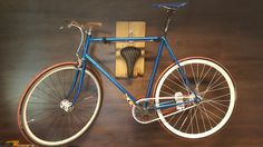 Wooden wall mount ,handlebars,grips by fapedal