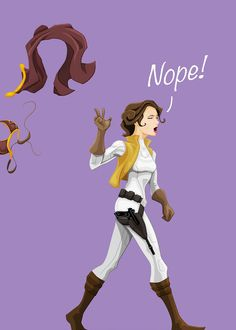 I am sick and tired of people rejoicing and drooling like there's no tomorrow over seeing Leia in that bikini. It gets so freaking annoying that I cussed at a guy. Theme Star Wars, Star Wars Art, Star Trek, Leia Star Wars, Star Wars Rebels, Carrie Fisher, Star Wars Personajes, Princesa Leia, Tired Of People