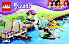 Lego Friends Instructions, Childrens toys