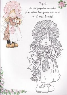 ^^/   molde para pintar o estampar Coloring Book Pages, Coloring Sheets, Mandala Art, Sara Kay, Creation Art, Crochet Amigurumi Free Patterns, Holly Hobbie, Digi Stamps, Embroidery Patterns