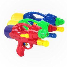KiiSports® Water Mini Cannon Blaster - 3 Pack - Water Jet...