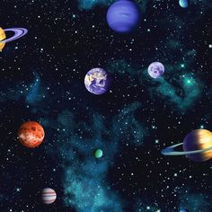 planet and universe image
