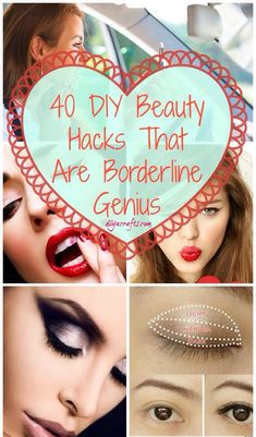 40 Borderline Genius Beauty Tips Every Girl Should Know #tipit