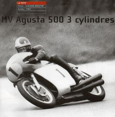 MV Agusta MV-3 500 N°1. Squadra Corse MV Agusta. 1967. Giacomo AGOSTINI.