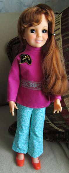 Crissy Doll from the 70's Handmade outfit.