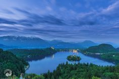 A scenic view from Slovenia