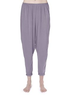 Miakoda Slouchy Pant, Light Blue, organic cotton/soy/spandex blend. No judgements, I want slouchy pants!