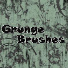 Photoshop Elements, Photoshop Cs5, Photoshop Brushes, Brushes Free, Grunge, Shops, Brush Set, Design Elements, Photo Editing