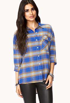Prairie Girl Plaid Shirt | FOREVER21 - 2000074195
