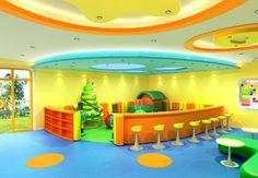 Pre-K Classroom Layout | kindergarten design playroom chinese kindergarten interior design ...