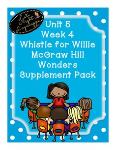 This includes supplementary materials for Reading Wonders Unit 5 Week 4 Whistle for Willie. Includes: *Weekly Newsletter *Spelling Scramble *Spelling Word Search *Phonics Worksheets *Structural Analysis Worksheets *Color by High Frequency Word Ditto *High Frequency Word Search *Selection Test