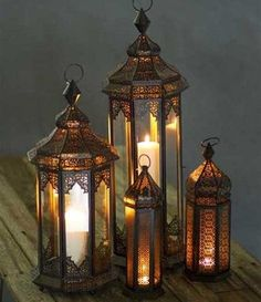 Love Moroccan Lanterns
