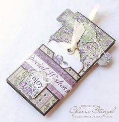 Scraps of Life: Heartfelt Creations Wednesday - Accordion Tag Mini Album