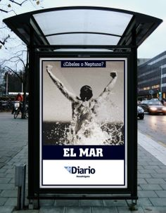 Mupi Diario - El mar #design #creatividad #artdirection