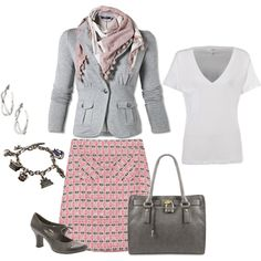 Job Interview Outfit, created by teresa-fallen on Polyvore
