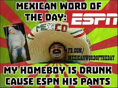 Mexican Word of the Day ESPN