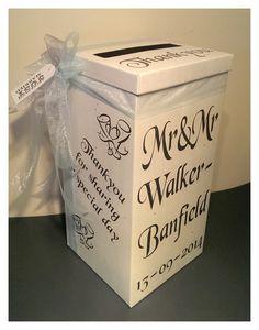 Wedding Card Post Box From Bonbod