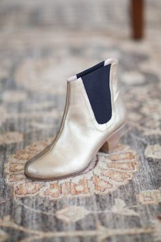 Gold Lennon Boot | Emerson Fry