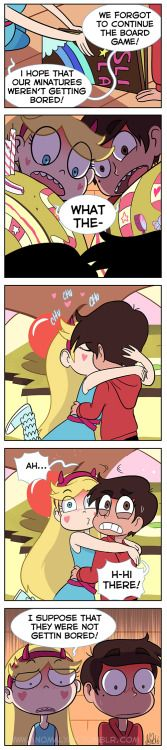 "Star! Marco! Please take lesson from yours tiny version ( ͡° ͜ʖ ͡°) ! From episode ""Starsitting""! Thanks to @prs3245 for suggest me part the situation X'D Pin it here: https://it.pinterest.com/pin/563090759642551594/ Enjoy"