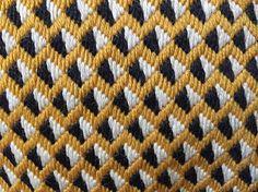 Items similar to Mid Century Needlepoint Bargello Pillow on Etsy Bargello Patterns, Bargello Needlepoint, Needlepoint Pillows, Needlepoint Designs, Needlepoint Stitches, Needlepoint Canvases, Plastic Canvas Ornaments, Plastic Canvas Crafts, Plastic Canvas Patterns