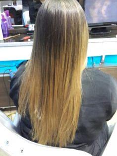 Californianas en cabello degrafilado