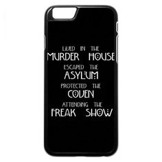 American Horror Story (seasons) iPhone 6 6s Case (4,545 DOP) ❤ liked on Polyvore featuring accessories and tech accessories
