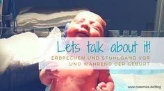 Es gibt ja so Einiges, über das wir nicht so gerne reden, wenn es um das Thema Geburt geht. So auch unangenehme Begleiterscheinungen, wie Erbrechen und Stuhlgang. Doch es gibt sie und wenn man einmal drüber gesprochen hat, ist es gar nicht mehr so schlimm. Auf unserem Blog spannende Fakten dazu. Healthy Life, Blog, Pregnancy Planning Resources, Round Round, Healthy Living