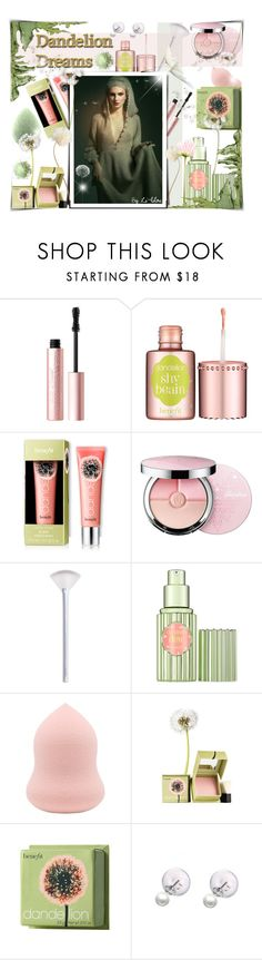 """""""~Dandelion Dreams ~"""" by li-lilou ❤ liked on Polyvore featuring beauty, Too Faced Cosmetics, Benefit, Guerlain and NYX"""