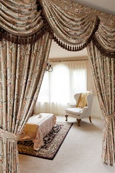 drapes and valance sets curtain panels fleurs rococo swag and tails valance curtain set elegant curtains beautiful best window treatment by celucecom