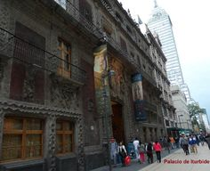 Palácio de Iturbide Cidade do México foto Cida Werneck