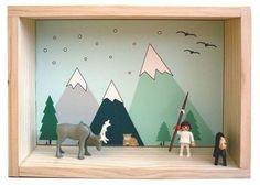 11 dioramas