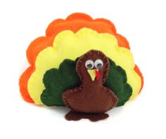 Stuffed Turkey Softie Sewing Pattern Pdf Turkey Pattern Soft Toy