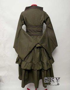 Custom Bustled Kimono Set by skycreation on Etsy, $105.00