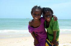Niñas en Senegal. Foto de Ángela Biesot