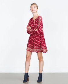 PRINTED DRESS-Dresses-TRF | ZARA United States