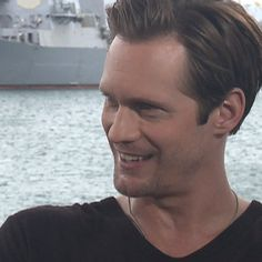 Alexander Skarsgard on Reconnecting With His Navy Roots in Battleship