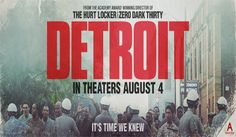 Detroit, a true drama film, depicting one of Americas darkest moments in history, the 1967 Detroit riots. Check out the latest film trailer. #detroit